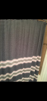 Shower curtain with rugs