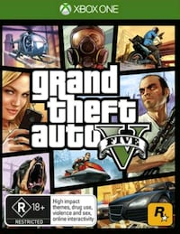 Gtav for xbox one  Abington, 02351