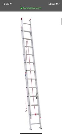 Werner 24 ft. Alum D-Rung Extension Ladder 200 lb. Load Capaciity Houston, 77002