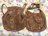 2 Brown Backpack and Crossbody bag Maple Ridge, V2X 6S4
