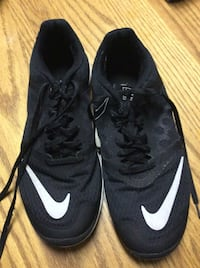 pair of black Nike basketball shoes Stockbridge, 30281