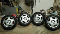 Mercedes e320 wheels with rims Toronto, M9R 2N6