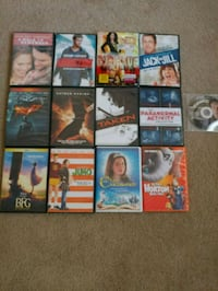13 movies asking $2 for 1 and $25 for all California City, 93505