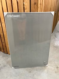 Brand new unopened ikea stromby extra large silver frame Vancouver, V5R 4H1