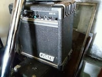 black and gray Crate guitar amplifier West Babylon, 11704