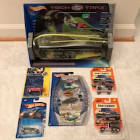 NEW Hot wheels hotwheels tech tracks and matchbox cars toys Burtonsville, 20866