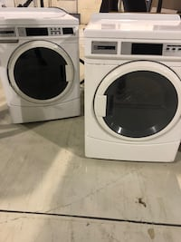 white front-load washer and dryer set Springfield, 22153