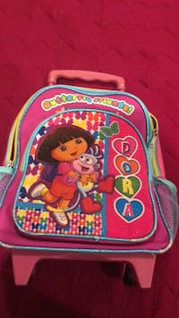 pink and multicolored Dora The Explorer backpack San Ramon, 94582