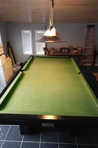 Dufferin Slate Pool Table with accessories