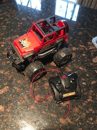 Jeep Wrangler Remote Control Toy Car Parkville
