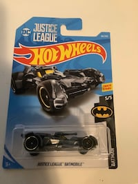 Hot wheels justice league Batman batmobile DC comics diecast movie car