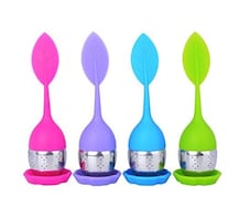 Silicone Tea Infusers 4 - Pack Loose Leaf