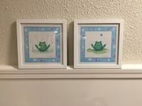 Framed art work, wall art for children's room Toronto, M6B