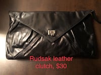 Rudsak leather clutch  Montreal, H1R 1R3