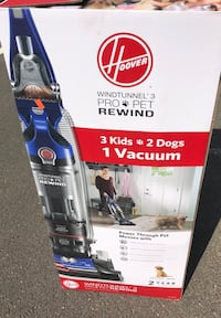 White and blue bissell upright vacuum cleaner box Ashburn, 20148