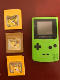 Game Boy Color & Pokémon games Ashburn, 20147
