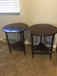 SET OF 2 SIDE-TABLES (FOLDABLE) Wexford