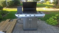 CharBroil SS Infrared Grill w/grill cover Bettendorf