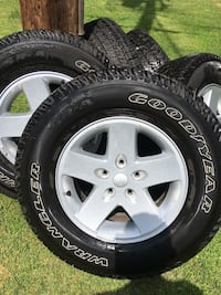 Rims and tires, like new Owego, 13732