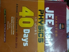 Master Jee Main Physics in Just 40 days book