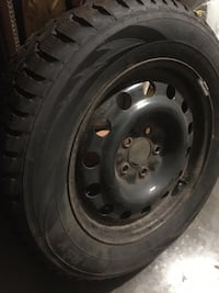 SNOW TIRES HANKOOK size 225/60R16.  LIKE BRAND NEW! Kitchener