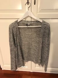 heather gray cardigan Larvik, 3257