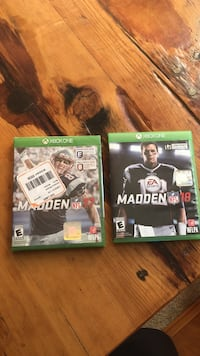 Madden nfl 18 and 17 microsoft xbox one cases Meridian, 83646