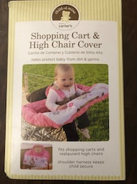 shopping cart and high chair cover box Fresno, 93702