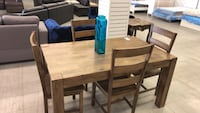 brown wooden dining table set Longueuil, J4V 2H8