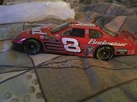red Budweiser stock car die-cast mdoel Springfield, 65803