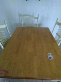 brown wooden table with chairs Edcouch, 78538