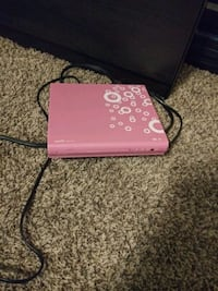 Capella pink dvd player, comes with some movies