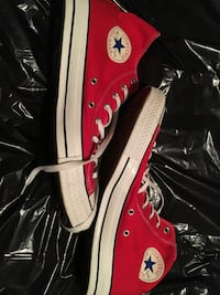 Men's size 13 red converse shoes  High Point, 27260