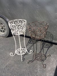 Wrought Iron Planter   Wellsville, 17365