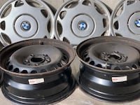 BMW 3er winter's tire rims and covers Richmond Hill, L4C 9Z5