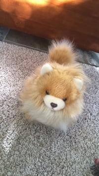 pomerian stuffed animal null