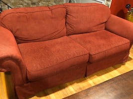 Sofa chair and ottoman