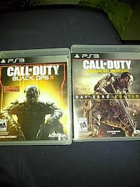 two Call of duty games for ps3. Kunkletown, 18058