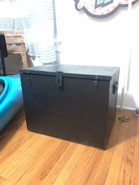 Black and gray wooden cabinet 61 km