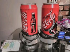 Attention Coca Cola paraphernalia collectors / Coca Cola can Lamps