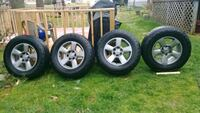 """Factory 18"""" Nissa Pathfinder Rims and Tires King George, 22485"""