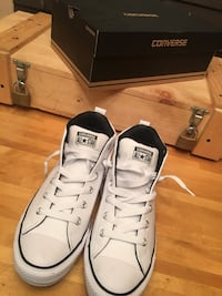 pair of white Converse All Star low-top sneakers Williston, 29853