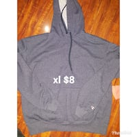 gray Champion pullover hoodie
