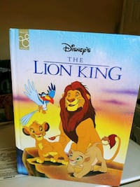 Original Lion King Kids Book $10.00 Winnipeg, R2R 0B7
