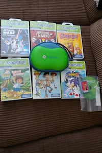 7 Leapster learning games and 1 case Mississauga, L5N 6W5