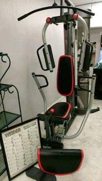 red and black exercise equipment Ashburn, 20147