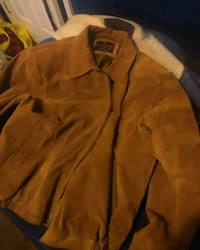 Brown leather Jacket (NeedsZipper). Spotsylvania Courthouse, 22551