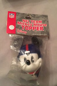 New York Giants Mickey Mouse topper Great Mills, 20634