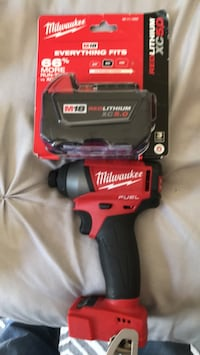 red and black Milwaukee cordless impact wrench Santa Maria, 93454