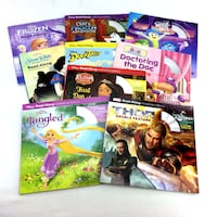 Lot 10 Disney Read Along Books Storybook And CD Sets Movie TV Audioboo Port Colborne